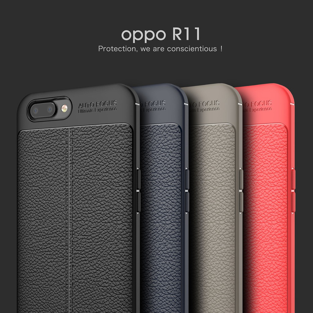 OPPO R11 R11 Plus R11S R11S Plus Soft Silicone Case Business Shockproof Cover