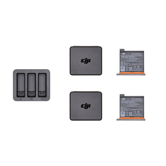 DJI 大疆創新 OSMO Action 充電管家套裝 充電電池 配件 座充 智能充電 一次多充 公司貨 光光相機