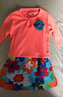 🚚 Baby Girl Baju Kurung