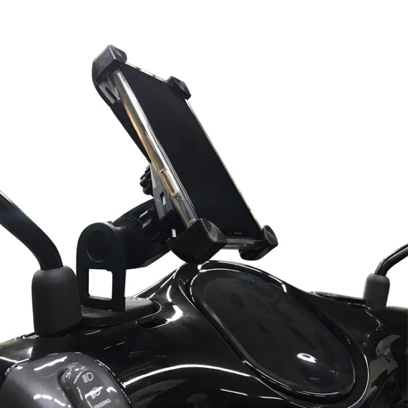 Gogoro 2, 3系列專用 手機架和白鐵油蓋支架組 騎士出遊環島 找路好朋友 有它好安心 Plus, S2
