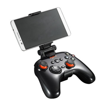 PXN-9608 2.4G bluetooth 4.0 Wireless Wired Gamepad with Removable Shell Phone Clip Vibration