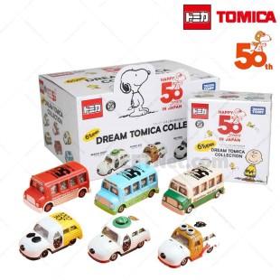 Dream Tomica 史努比 Snoopy 50周年記念合金車 TOMICA 全6款 隨機出貨
