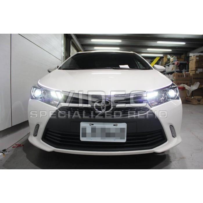 大台北汽車精品 HID 豐田 TOYOTA 14 ALTIS 11代 原廠型 LED 大燈 總成 Z版 台北威德