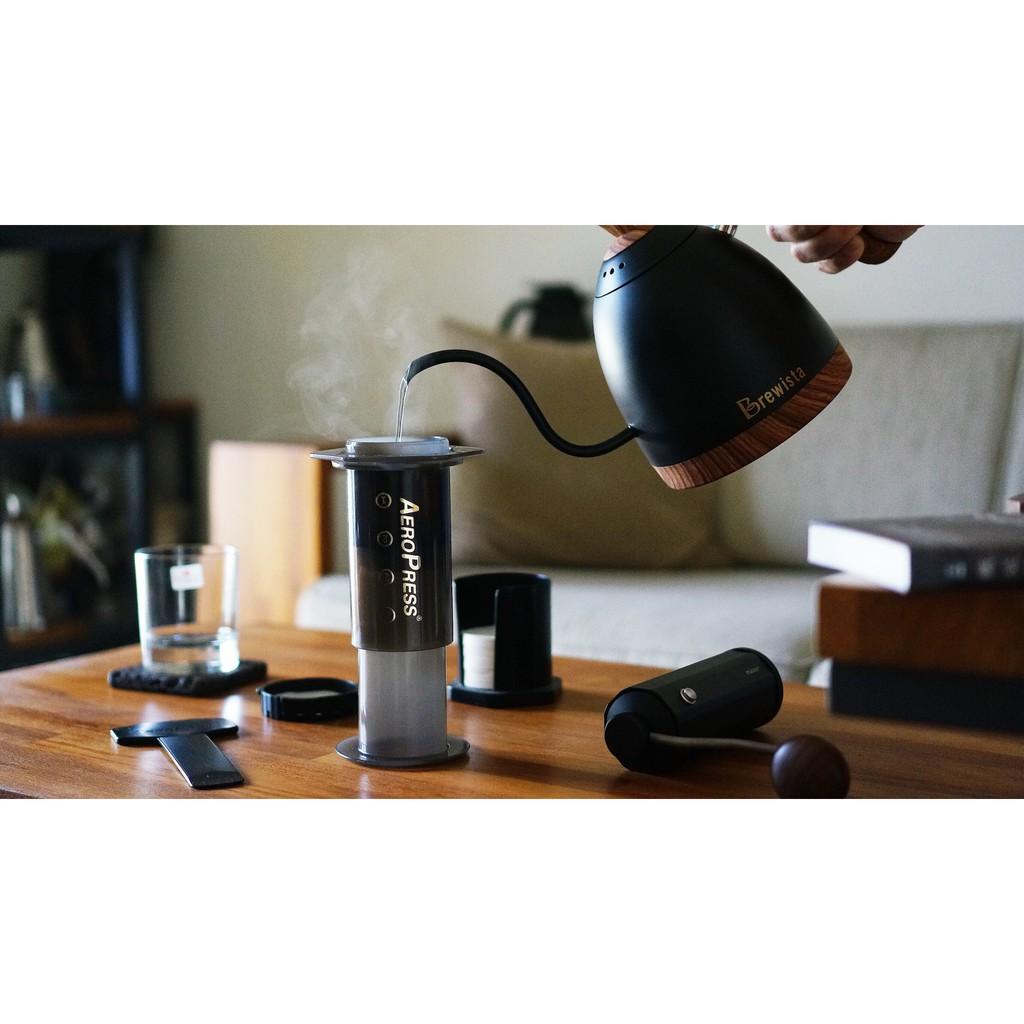 Brewista Sunrise 0.6L溫控手沖壺 / 啞光黑圖騰限量版 / 英國Strix溫控系統