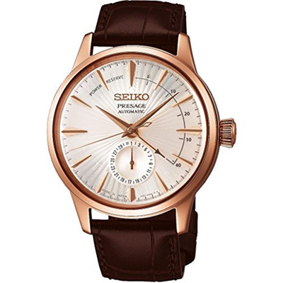 ▶$1 Shop Coupon◀  SEIKO PRESAGE Power Reserve Champagne Cocktail Time