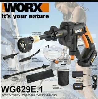 WORX Hydroshot Pressure washer