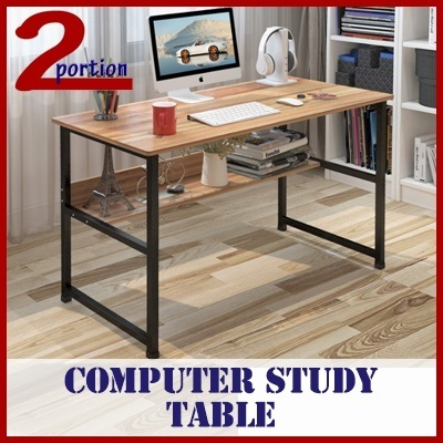 COMPUTER STUDY TABLE WITH BOTTOM SHELF / GAMING TABLE / CHILDREN TABLE / SELF FIX