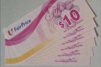 $250 NTUC FAIRPRICE VOUCHERS