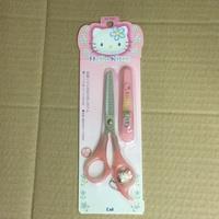 KAI 貝印 迪士尼 Hello Kitty 打薄剪刀 ( 理髮組、髮梳組、髮剪組、剪刀組 )