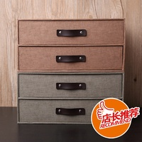 Creative cabinets and drawer storage boxes from IKEA desk storage boxes home living room clutter sto