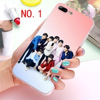 Korean Fashion BTS Bangtan Boys Phone Case for Iphone 5/5se/5s 6/6S Plus 7/7 Plus 8/8 Plus X SE XS X
