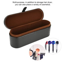 Portable PU Storage Gift Box Hard Travel Case Pouch for Dyson Supersoni HD01 Hair Dryer