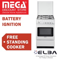 ELBA EGC 536 FREE STANDING COOKER WITH 37L OVEN