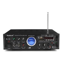 Sunbuck TAV-339B bluetooth 600W Karaoke Power Stero Amplifier With VU Meter FM 2 Channel USB SD
