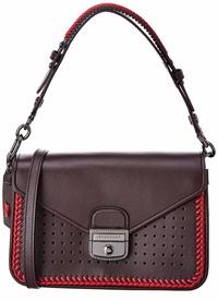 Longchamp Mademoiselle Leather Shoulder Bag