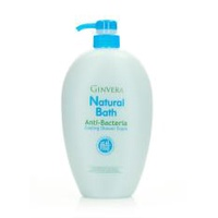 Ginvera Natural Bath Anti-Bacteria Cooling Shower Foam 1000g