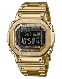 ▶$1 Shop Coupon◀  G-Shock Men s GMW-B5000GD-9CR Gold One Size