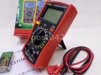 電工錶工具VL-33三用電錶 數字三用電錶萬能表大號顯示電表 萬用電錶