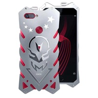 Thor Series Aviation Aluminum Metal Ironman Cover Case for OPPO R11s Plus