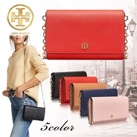✨ During the net cheapest challenge ★ Time sale limited special price! TORY TORY BURCH Tory Burch ☆ ROBINSON CHAIN WALLET Purse Wallet Shoulder Wallet Pouch Classic Shoulder Strap
