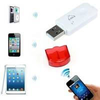 Universal USB Wireless Bluetooth 2.0 2.1 Music Receiver Wireless USB Bluetooth Audio Music Receiver Adapter For iPhone 4 5