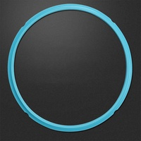 Universal Silicone Pot Sealing Rings Instant Pot Replacement for 5&6L Electric Pressure Cookers Specification:blue