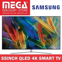 SAMSUNG QA55Q7FAMK 55INCH QLED 4K SMART TV / NO FREE GIFT / LOCAL WARRANTY