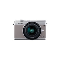 Canon EOS M100 Mirrorless Camera with 15-45mm Lens - Gray