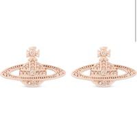 🇬🇧英國直送 Vivienne Westwood Mini BarsDiamanté OrbEarrings土星耳環