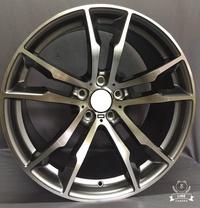 【A-4568】20吋鋁圈 類 BMW X5M 亮灰+車面 5孔120 前後配 M-PERFORMANCE X5 X6