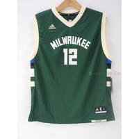 玉米潮流本舖 ADIDAS NBA MILWAUKEE Jabar Parker 12號 15-16客場 青年版球衣