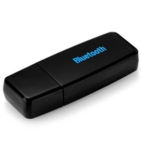 Bluetooth 2.0 A2DP USB Audio Music Receiver with3.5mmInterface(Black)