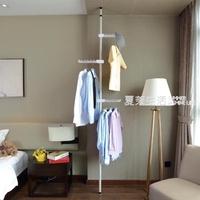 衣帽架 韓式簡易衣帽架創意頂天立地衣架落地臥室掛衣架掛包架子簡約現代