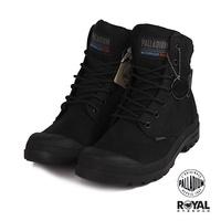 Palladium 新竹皇家 PAMPA CUFF 黑色 防水 皮質 軍靴 高筒 男女款 NO.B0172