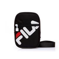 FILA LOGO BAG 深藍 白 紅 旅行 斜背 腰包 小包 側背包 基本 男女 BSS-1102-NV DOT聚點