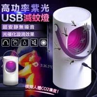 【Purple Vortex】超靜音紫光高功率紫光USB滅蚊燈P203