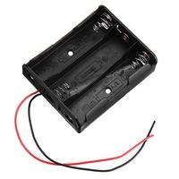 10pcs 4 Slots 18650 Battery Holder Plastic Case Storage Box for 4*3.7V 18650 Lithium Battery
