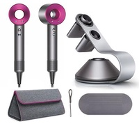 Dyson Supersonic™ Hair Dryer (Iron Fuchsia) with Dyson Storage Bag & Hair Dryer Stand
