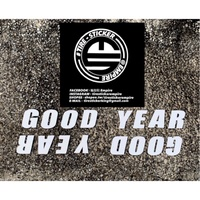 輪胎貼 GOODYEAR 品牌套組 客製化輪胎貼
