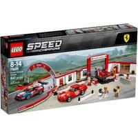 樂高 LEGO 75889 SPEED Ferrari Ultimate Garage 法拉利 終極車庫 全新 現貨