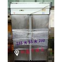 淡水二手家具 營業用四門全冷藏營業用冰箱 110V 廚房配備 家用冰箱 冷藏冷凍櫃 二手家電買賣 廢棄物處理 萬物接收