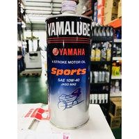 『油工廠』YAMAHA YAMALUBE sports 合成機油 10W-40 JASO MA2 10W40 SPORT