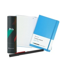 NeoLAB Neo smartpen 時尚粉藍筆記組(黑色)