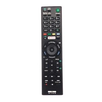 Brand New For Sony ABS Shell Home KD-49X8305C Silicone Key TV Remote Control