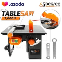 InnTech โต๊ะเลื่อยวงเดือน 8 นิ้ว 1,600W ปรับองศาได้ แถมฟรี! ใบเลื่อย 8 นิ้ว Table Saw Supreme Edition รุ่น TS-1600