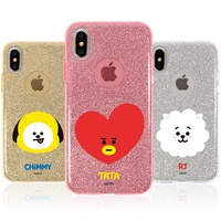 ★ Line Friends ★ BT21 Glitter Case ★ iPhone X / iPhone 8 / iPhone 7 ★ Galaxy Note8 / S9 / S8 ★