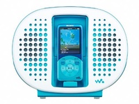 [Shipping from japan]Sony (SONY) Sony Walkman Dock Speaker Waterproof Blue RDP-NWR100 / L