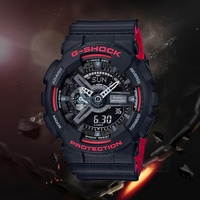 Fashion G Shock Casio Watch Male Black And Golden Casio Sports Watch G-Shock Men's Watch G A-110 G B-1a