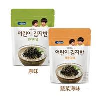 韓國 智慧媽媽 BEBECOOK 嬰兒初食海苔酥 12M+ (原味/蔬菜海味)好窩生活節