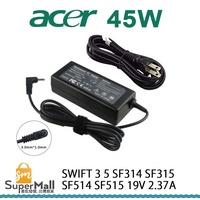 充電器 適用於 宏碁 ACER 變壓器 Swift 3 SF314 SF315 SF514 19V 2.37A 45W